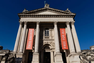 Tate Britain art gallery